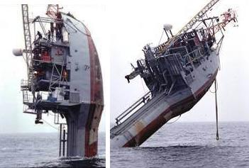 Barcos hundiendose y hundidos!
