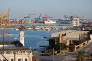 Dársena interior puerto Valencia, hoy Port America's cup. Foto: Flickr
