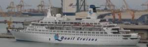 El ´Pacific´ atracado en una visita al Puerto de Valencia Jose Aleixandre