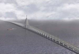 Simulación puente Bahrain-Qatar_Causeway
