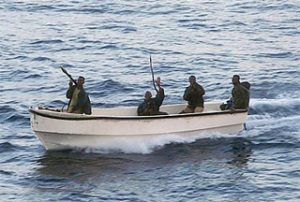 Pirates off the Somali coas