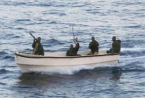 Pirates off the Somali coas