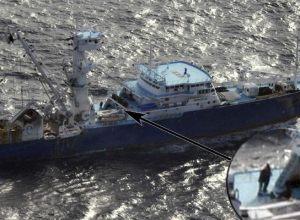 """Imagen del Ministerio de Defensa del pesquero """"Alakrana"""", secuestrado por piratas somalíes. Foto: EFE"""
