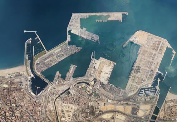 Cuatro puertos espa oles entre los cien primeros puertos - Laydown puerto valencia ...