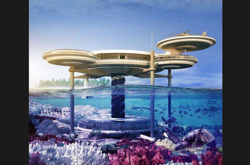 Water discus hotel el primer hotel subacu tico Imagenes de hoteles bajo el agua