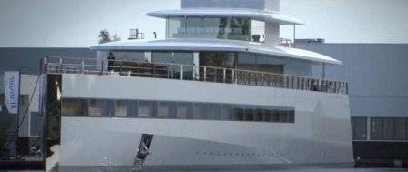 El barco de Steve Jobs.