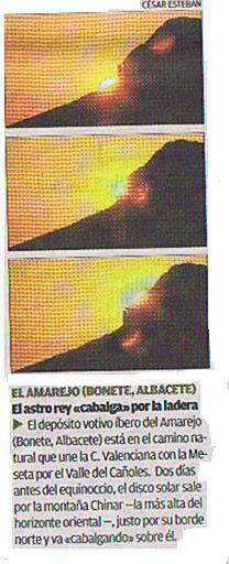 El sol en Bonete 2