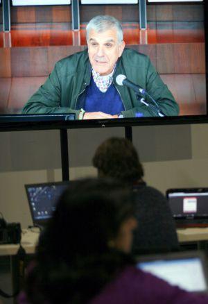 José Pose Vaquero durante su declaración como testigo en el juicio / KIKO DELGADO (EFE)