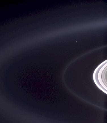 El punto es la Tierra