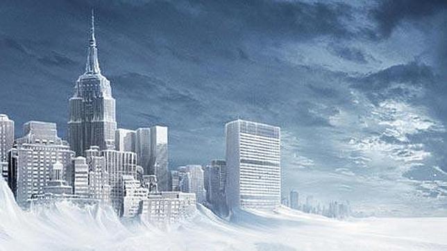 Recreación de Nueva York congelada por las bajas temperaturas. / Foto: Archivo