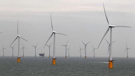 ARCHIVOEl parque eólico de Japón pretende ser el mayor del mundo. En la imagen, parque en la costa de Kent (Inglaterra).