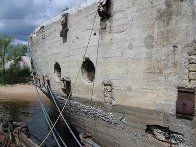 barcos cemento