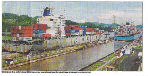 Canal de Panamá, barco 2b