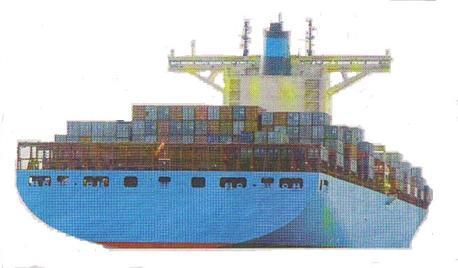 Canal de Panamá, barco b