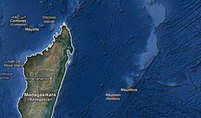 Imagen de las costas de Madagascar.- GOOGLE MAPS.