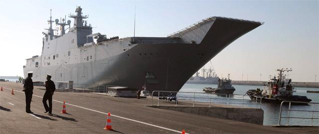 El buque de proyección estratégica 'Juan Carlos I' (EFE)