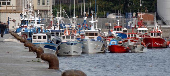 Flota pesquera en Galicia. EFE