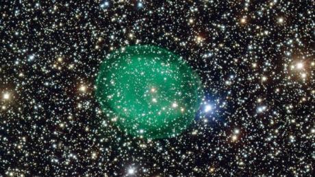 ESO La espectacular nebulosa IC 1295, a 3.300 años luz de la Tierra