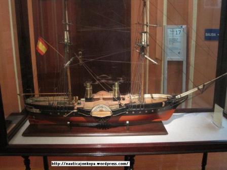 Barco vapor b