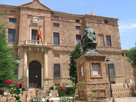 Palacio del Marqués de Santa cruz en Viso del Marqués. Fuente: Wikimedia commons.