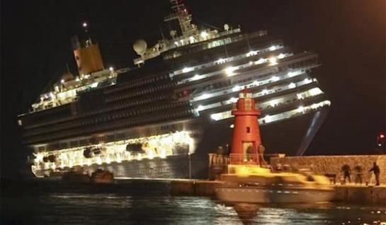 Costa Concordia, varado