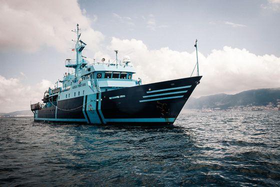 El Fulmar es uno de los dos buques de operaciones especiales del Servicio de Vigilancia Aduanera. / GIANFRANCO TRIPODO