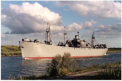 Liberty Ship S.S. John W. Brown Visited Jacksonville June 4 -10, 2002