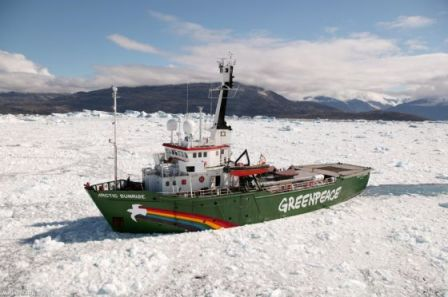 El buque de Greenpeace 'Arctic Sunrise'. / GREENPEACE
