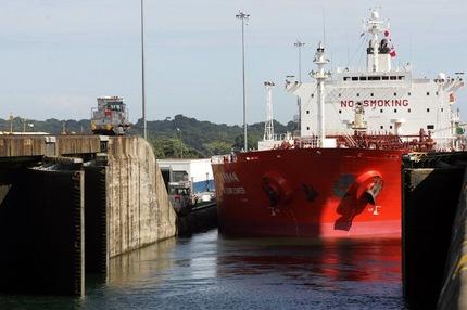 Canal de Panamá. Foto AFP Orlando Sierra