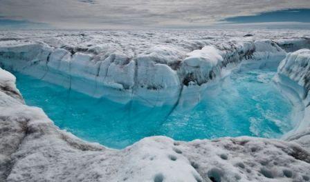 Deshielo de la capa superficial de Groenlandia. / IAN JOUGHIN