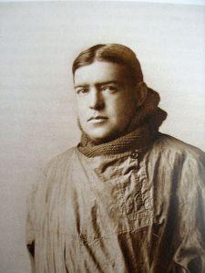 Un retrato de Ernest Shackelton.