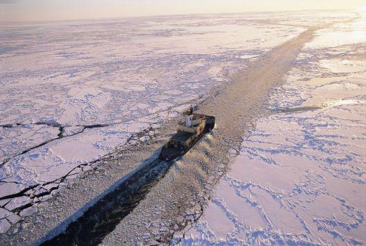 Los rompehielos son fundamentales para asegurar la ruta del Ártico. / Magnus Elander