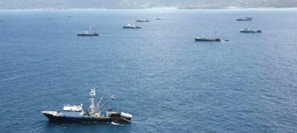 Barcos atuneros en las aguas de Mauritania (La Moncloa)