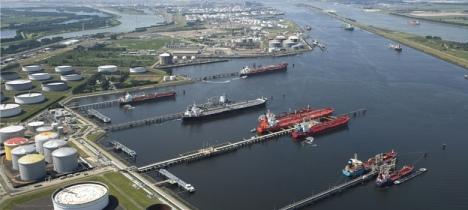 Puerto de Rotterdam, Paises Bajos. Top 1.
