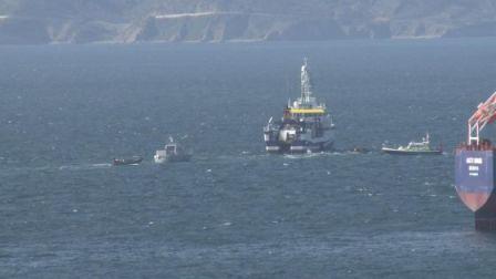 Imagen del buque español cedida por el Gobierno de Gibraltar.