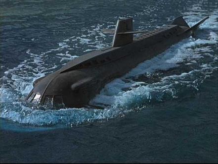 El submarino nuclear 'Seaview', de 'Viaje al fondo del mar'.. Fuente: El Correo.