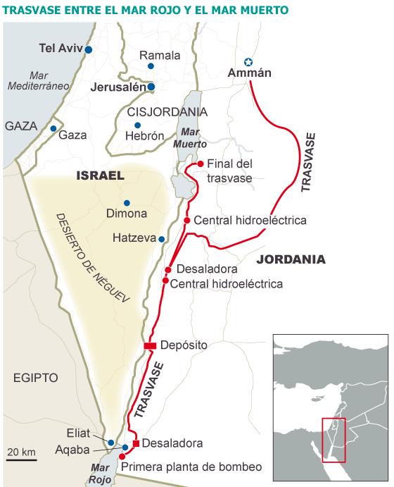 Fuente: The Israel Project. / EL PAÍS