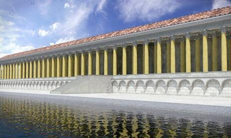 """Arqueólogos británicos han revelado que """"Portus"""", construido por Trajano en el siglo II fue demolido por los bizantinos en el siglo VI y no por los ostrogodos"""