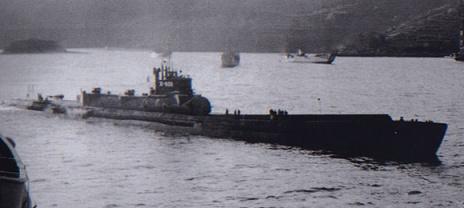 Localizado en la costa de O'hau, Hawai, era del tamaño de los futuros sumergibles nucleares. Fue capturado por EE.UU, estudiado y hundido en el verano del 46 para evitar que la URSS lo inspeccionara, incumpliendo el acuerdo entre los aliados de la II Guerra Mundial