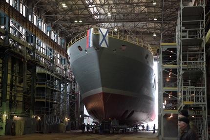 RIA Novosti Igor Russak/ El buque de salvamento de última generación Ígor Belousov Texto completo en: http://actualidad.rt.com/actualidad/view/116077-buques-armada-rusia-2014