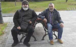 Fernando Patricio (izquierda) y Xabier Maceiras, esta semana, en Arteixo. / víctor echave