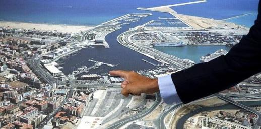 Actuaciones previstas en La Marina Real Juan Carlos I de Valencia. / EFE | Biel Aliño