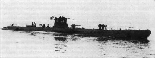 Submarino alemán «U-34»