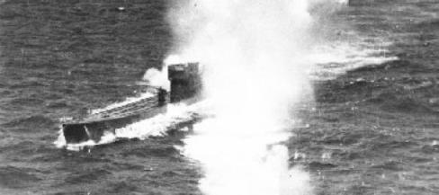El U-77, bombardeado en la costa de Calpe. Leer más:  La historia que relaciona la tumba del rey Carlos I con un submarino nazi - Noticias de Alma, Corazón, Vida  http://bit.ly/1mlJnsL