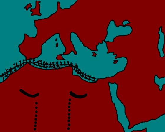 tragedia mediterránea