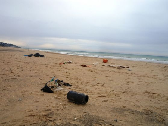 Vista invernal de Zahara de los atunes (Cádiz). / Proyecto Marnoba