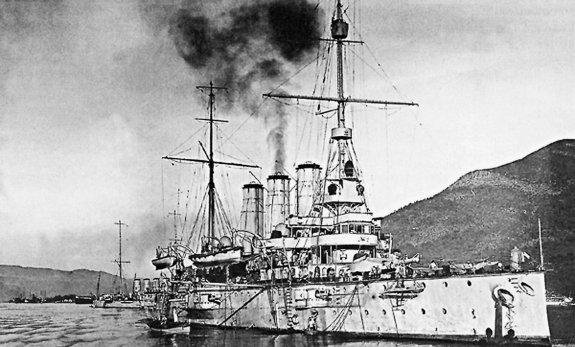 crucero 'Kaiser Karl VI'