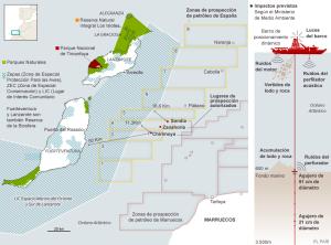 Prospecciones petrolíferas en Canarias