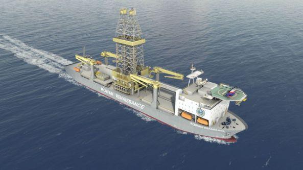 Rowan Renaissance, el buque con el que se realizarían los sondeos de Repsol