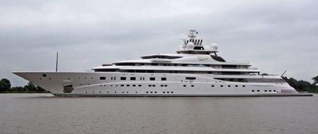 El Eclipe de Abramovich es el segundo barco más caro del mundo. / Claus Schafe